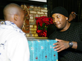 Young Jeezy Gave Back To Young Kids At Christmas Time