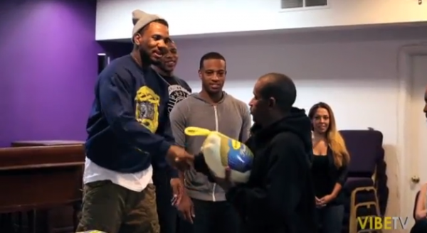 The Game Gives Back To The Community In Compton