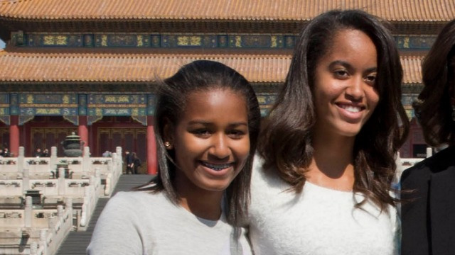 Sasha & Malia Named On 25 Most Influential Teen List