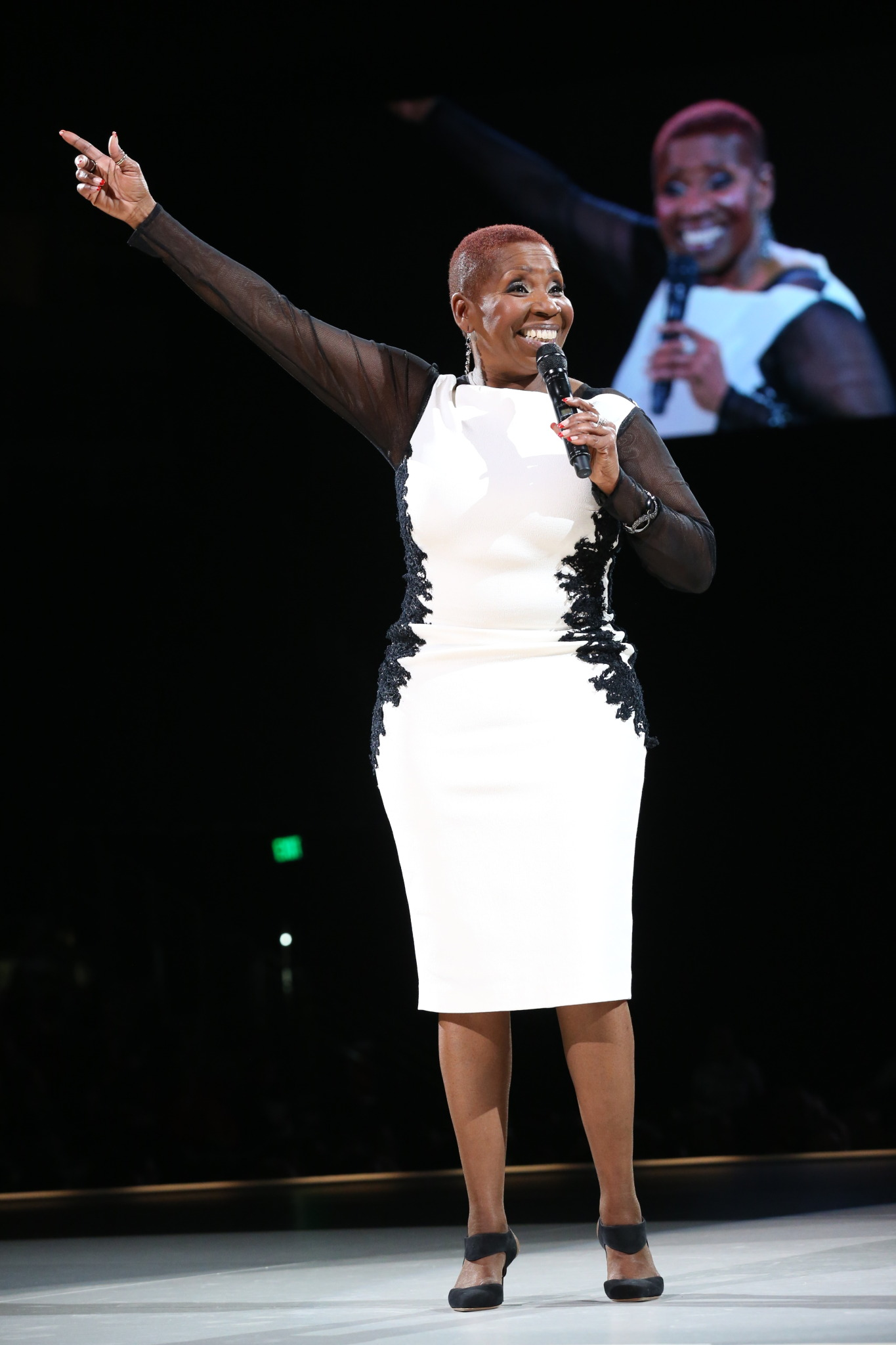 Iyanla Vanzant in seattle pic