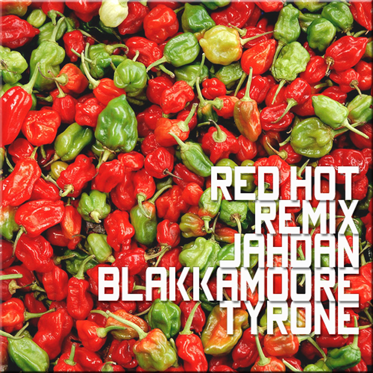 Tyrone Jahdan Red Hot Remix Cover